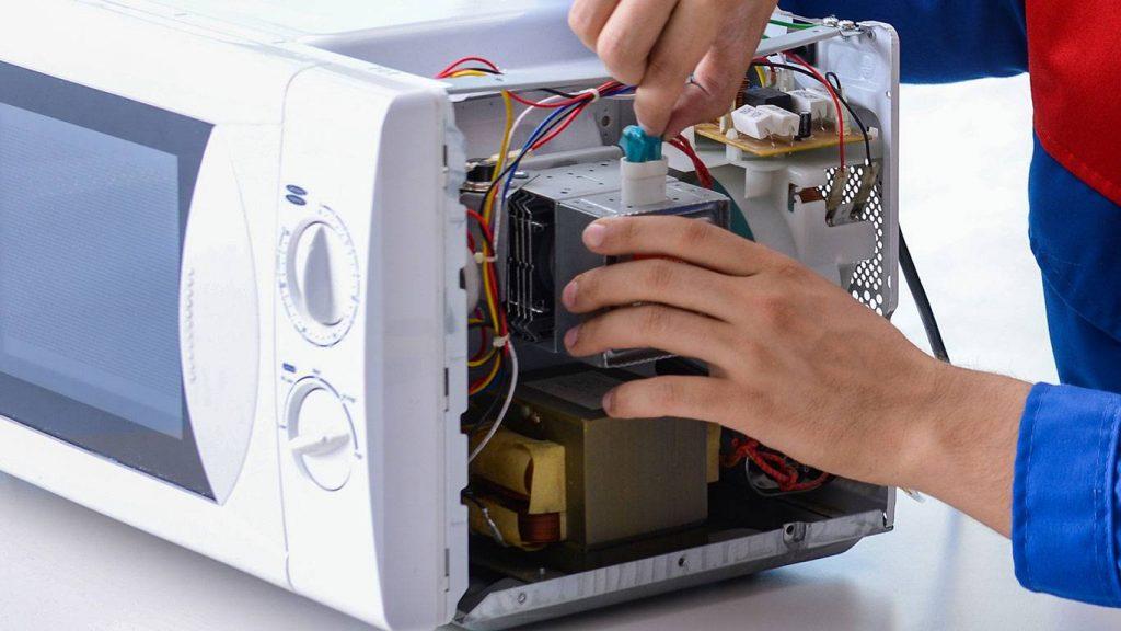ремонт СВЧ микроволновых печей